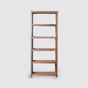 Reclaimed teak wood shelf