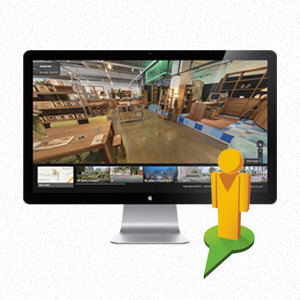 Virtual tour of Journey East furniture showroom